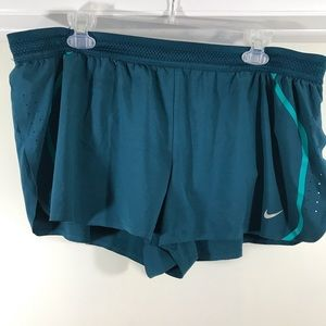 Nike pair of men's running shorts size XL